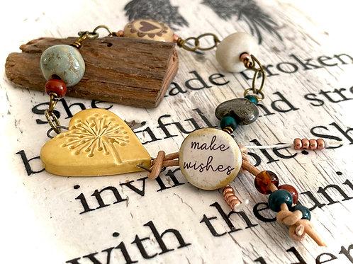 'Make Wishes' handmade artisan bracelet design