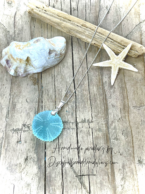 Handmade Sea Urchin Artisan  Pendant