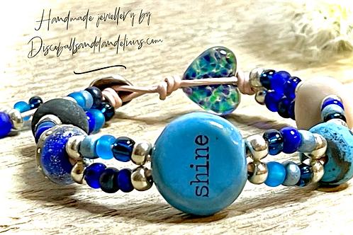 'Do what makes your soul shine Handmade Bracelet