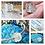 Thumbnail: Dandelion Wish Swirl/Wave European Handmade Resin Bead