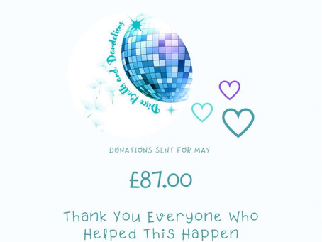 Donations For May