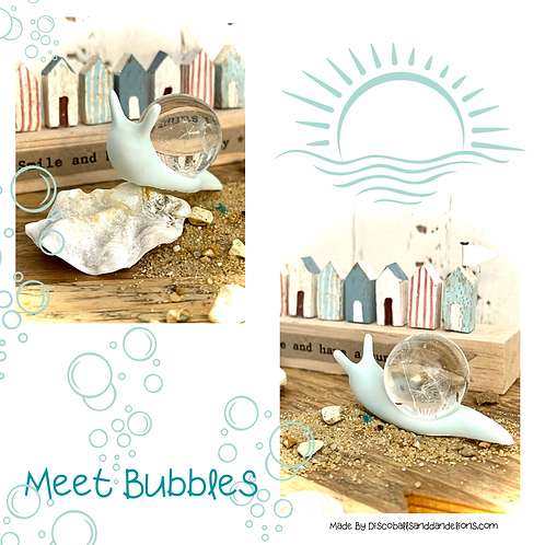 Limited Edition Bubbles   The Wish Snail Ornament