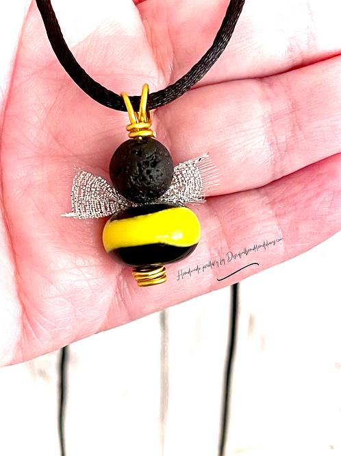 Aromatherapy Bumble BEE Pendant