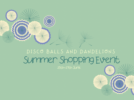 DBDS Summer Shopping Event