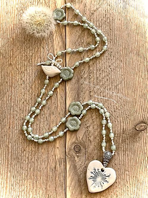 Summer Mala Style Necklace