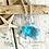 Thumbnail: Single Dandelion Wish Sea Turtle Pendant