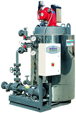 vertikalni termooljni kotel ODEV, i.var industry, termalno olje