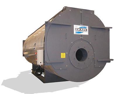 trivlečni vročevodni kotel XVAS, I.VAR Industry