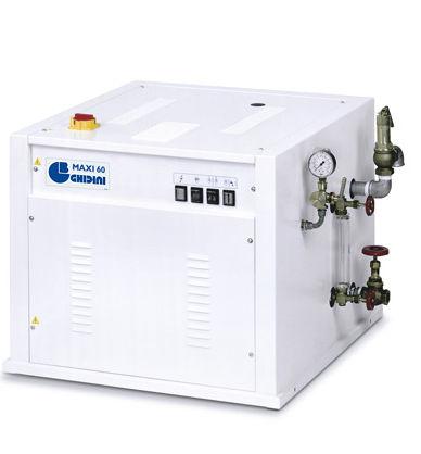 električni parni kotel, čista para, Ghidini Maxi 60