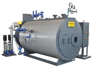 trivlečni parni kotel, mnogovodni, proizvajalec pare, BHP-T, I.var industry