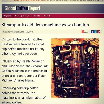 Article in Global Coffee Report