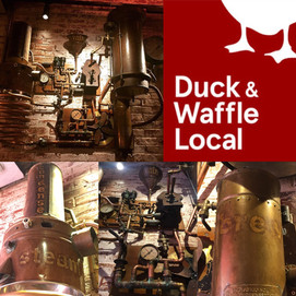 Bar Installation at Duck & Waffle