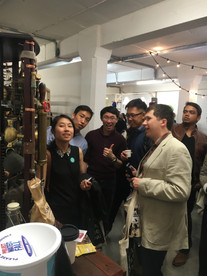 Steampunkcoffeemachine attracted the crowds at London Coffee Festival 2016