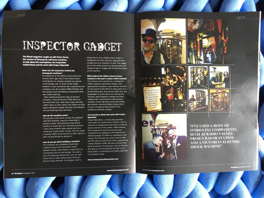 Great Article about our story in The Blend Magazine