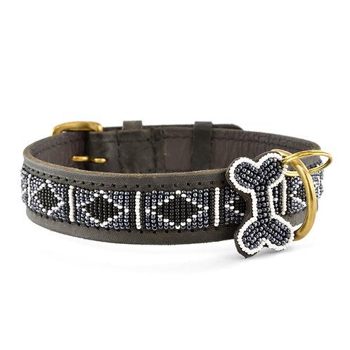 Hundhalsband Rafiki black | Zinj design