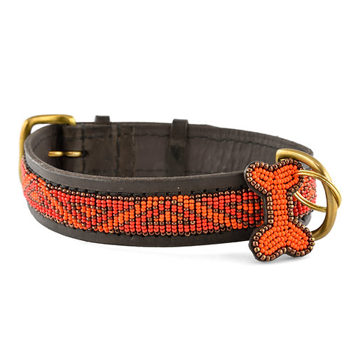 Hundhalsband Kabaka neon | Zinj design