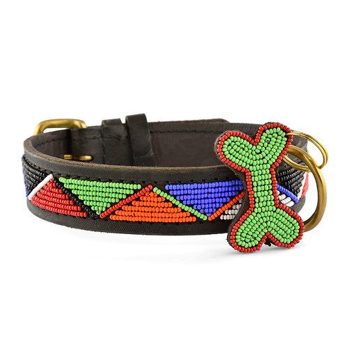 Hundhalsband Maasai | Zinj design