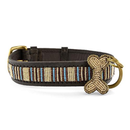 Hundhalsband Blue nile | Zinj design