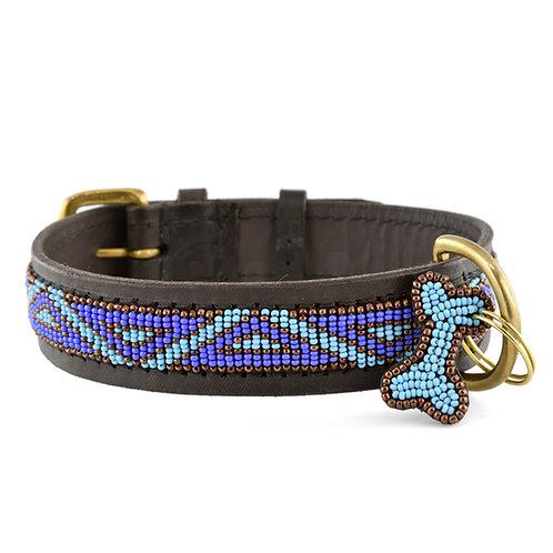 Hundhalsband Kabaka blue | Zinj design