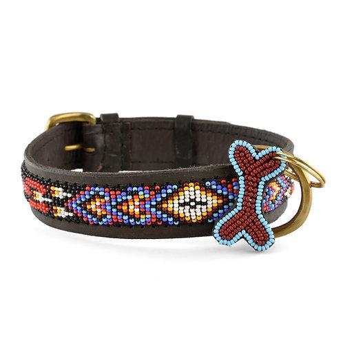 Hundhalsband Kiowa black | Zinj design