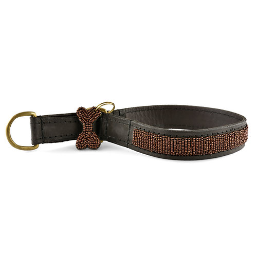 Hundhalsband: Halvstryp Copper | Zinj design