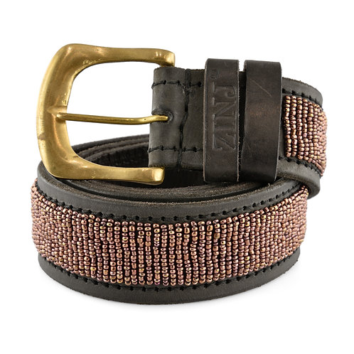 Läderbälte Copper | Zinj design