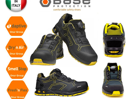 Base B1005C K-Rush S1P HRO SRC Spor Outdoor İtalyan İş Ayakkabısı