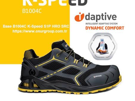 BASE  B1004C K-SPEED S1P  HRO SRC İtalyan Marka İş Güvenliği Ayakkabısı