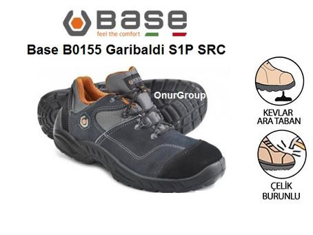 BASE B0155 Garibaldi S1P SRC İtalyan İş Güvenlik Ayakkabısı