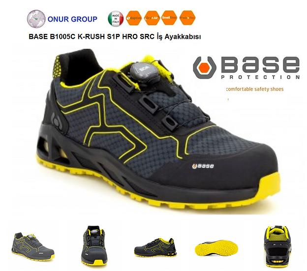 Base B1005C K-Rush S1P HRO SRC İtalyan Outdoor iş ayakkabısı