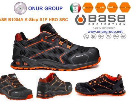 BASE  B1004A K-Step S1P HRO SRC İtalyan İş Güvenlik Ayakkabısı