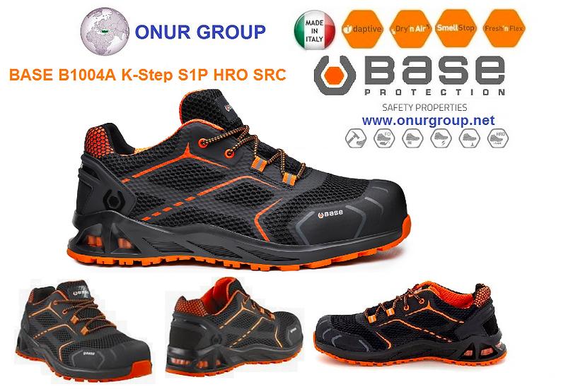 Base B1004A K-Step S1P HR İtalyan İş Ayakkabısı