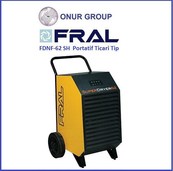 Fral FDNF-62SH Portatif Tip Ticari Nem Alma Cihazı