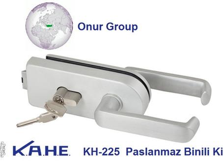 KAHE KH-225 Cam kapı kollu kilit