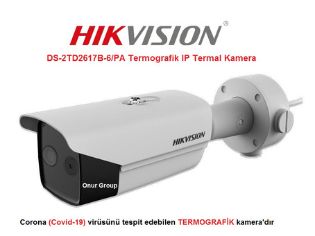 Libya Hikvision DS-2TD2617B-6/PA  thermal camera