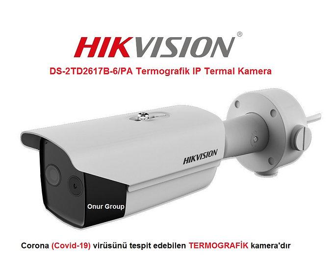 Hikvision DS-2TD2617B-6/PA Termografik IP Termal Kamera
