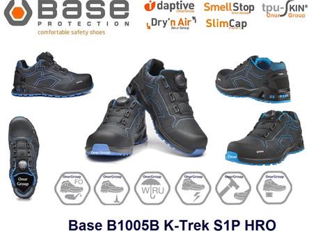 Base B1005B K-Trek S1P HRO SRC İtalyan marka Spor outdoor  iş ayakkabısı