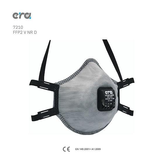 ERA 7210 Aktif karbon FFP2 V NR D solunum maskesi ventilli