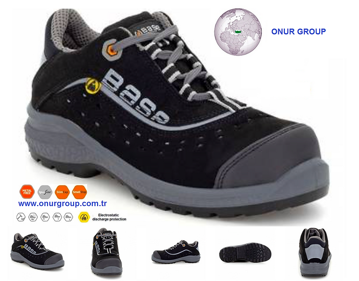 BASE B0886 Be-Style S1P-SRC ESD İtalyan İş Güvenlik Ayakkabısı