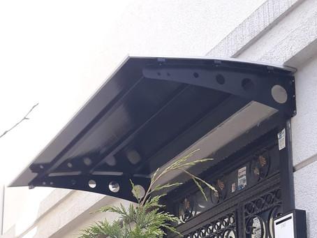 Kapı üstü pratik sundurma | Sundurma | Çatı sistemleri