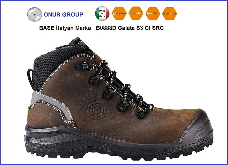 BASE B0888D Galata S3 CI SRC İş Ayakkabısı