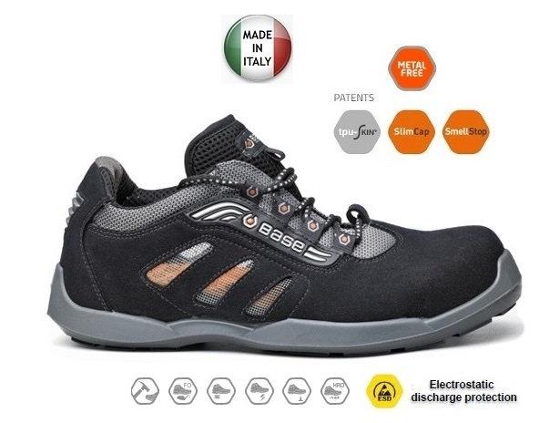 BASE B0643 DARTS S1P ESD SRC İş Ayakkabısı