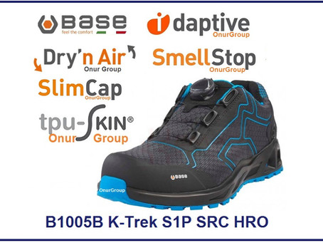 BASE İtalyan İş Güvenlik Ayakkabısı B1005B K-TREK S1P HRO SRC İş Ayakkabısı