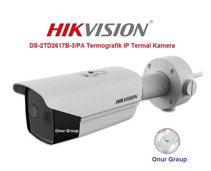Hikvision DS-2TD2617B-3/PA Termografik IP Termal Kamera