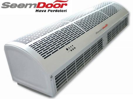 SeemDoor RM-1220  Elektrikli Isıtıcılı Hava Perdesi 200 cm