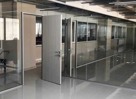 Ofis bölme sistemleri | Cam bölme duvar | Cam kapı sistemleri