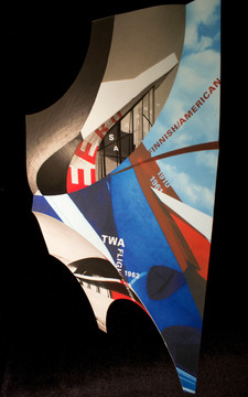 Experimental 3D poster: Eero Saarinen