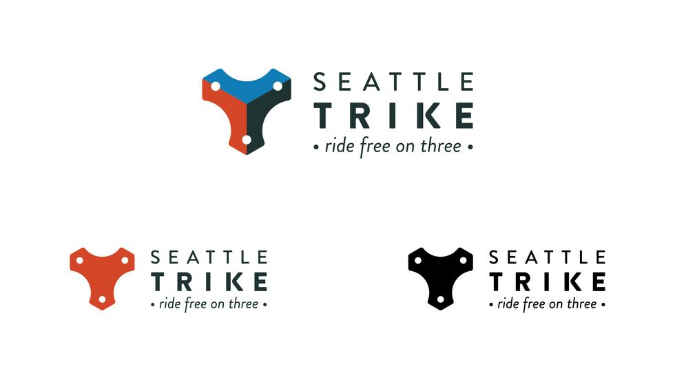 Seattle Trike logo variations