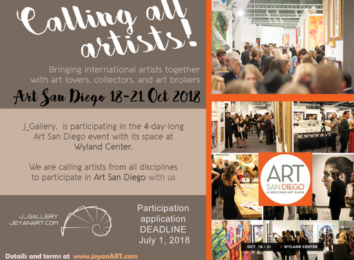 CALLING FOR ARTISTS