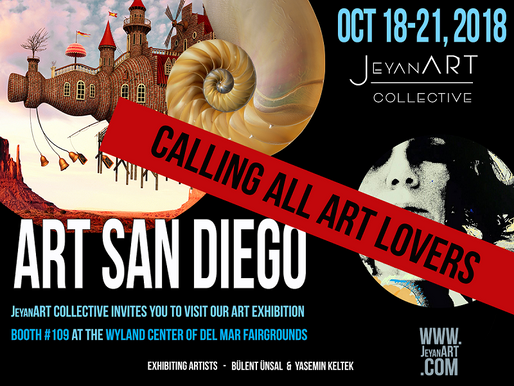 JeyanART Collective @ Art San Diego